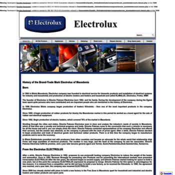 Electrolux.com.mk thumbnail