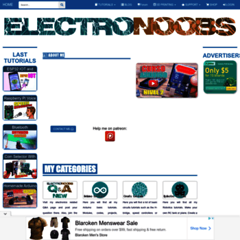 electronoobs com at WI  ELECTRONOOBS - Electronics tutorials