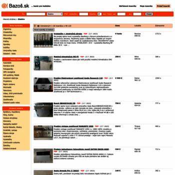 elektro.bazos.sk at WI. Elektro inzercia 6098b6d81b6