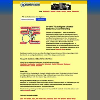 Elektroteile-versand.de thumbnail