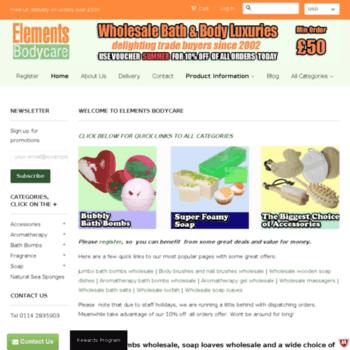 Elements-bodycare.co.uk thumbnail