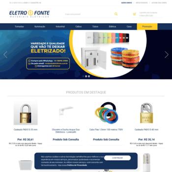 Eletrofonte.com.br thumbnail