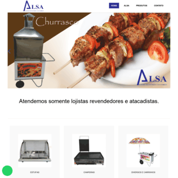 Eletromet-alsa.com.br thumbnail