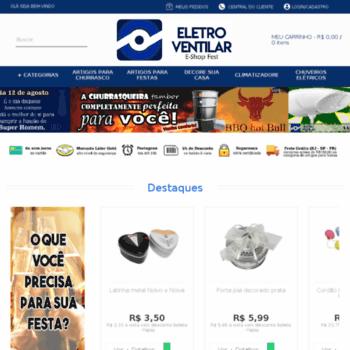 Eletroventilar.com.br thumbnail