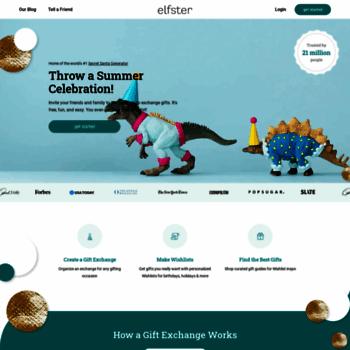 Elfster Com At Wi Secret Santa Generator Online Gift Exchange App