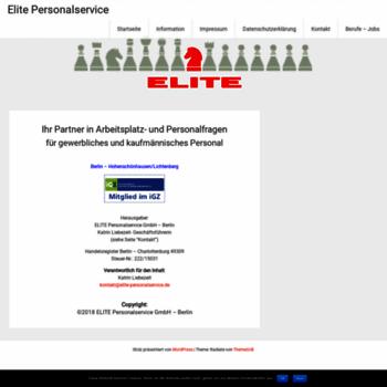 Elite-personalservice.de thumbnail