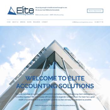 Eliteaccountingsolutions.com.au thumbnail