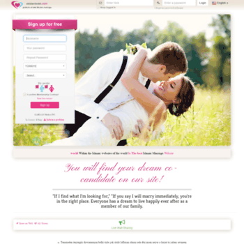 elitislamievlilik com at WI  Islamic Marriage Site-Muslim members