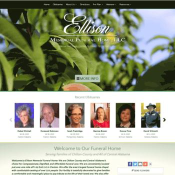 Ellisonmemorialfuneralhome Com At Wi Ellison Memorial Funeral Home