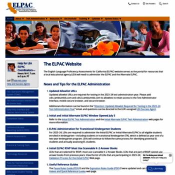 Elpac.org thumbnail