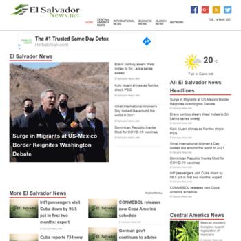 Elsalvadornews.net thumbnail