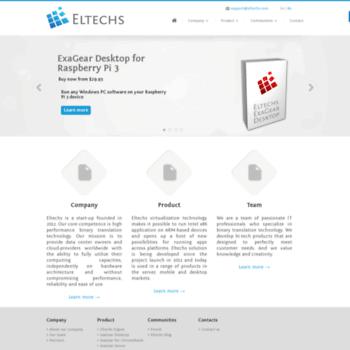eltechs com at WI  Eltechs ExaGear Desktop  Run x86 applications on