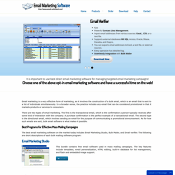 email-unlimited com at WI  Free Bulk Email Sender √ Mass Email Software