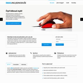 Emailing-jednoduse.cz thumbnail
