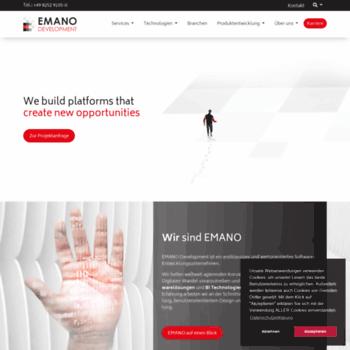 Emano-development.de thumbnail