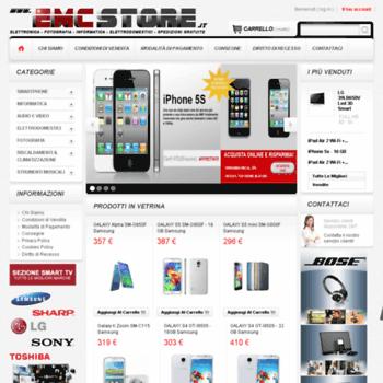 Emcstore.it thumbnail