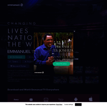 emmanuel tv at WI  Emmanuel TV -