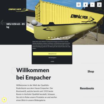 empacher com at WI  Empacher Bootswerft - Empacher Boats