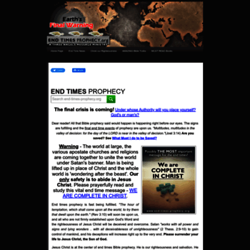 End-times-prophecy.org thumbnail