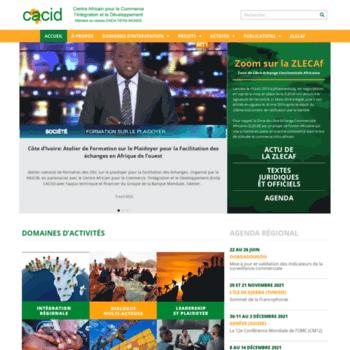 Endacacid.org thumbnail