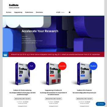 Endnote.no thumbnail