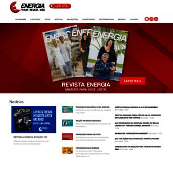 d548a2af9 Energianaweb.com.br thumbnail. Alexa Rank: 7551532. ENERGIA NA WEB - Rádio  Energia FM 101 ...