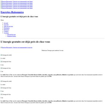 Energies-raisonnees.fr thumbnail