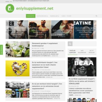 Eniyisupplement.net thumbnail