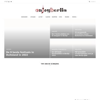 Enjoy-berlin.nl thumbnail