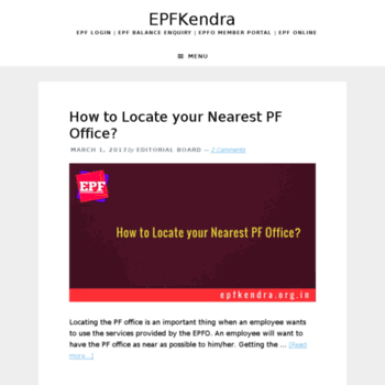 Epfkendra.org.in thumbnail