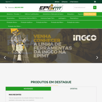 6c3321367c744 Epimt.com.br thumbnail. Alexa Rank  13144966. Epi MT - Equipamentos de Proteção  Individual - EPIs Rondonópolis