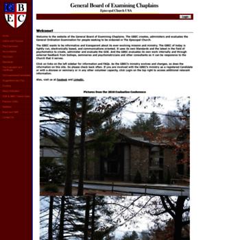 Episcopalgbec.org thumbnail