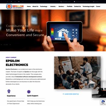 Epsilonelectronics.in thumbnail
