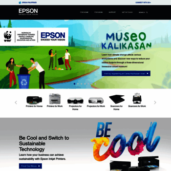 epson com ph at WI  Epson Philippines | Homepage