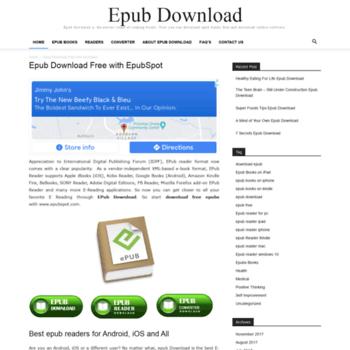 epubspot com at WI  Free Epub Books - Epub download for Windows, Mac