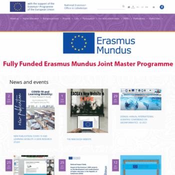 Erasmusplus.uz thumbnail
