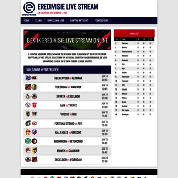 Eredivisie-stream.net thumbnail