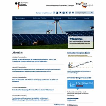 Erneuerbare-energien.de thumbnail