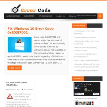 Errorcode.in thumbnail