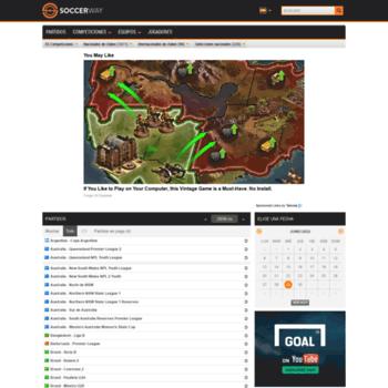 es soccerway com at WI  Resultados en vivo, resultados, próximos