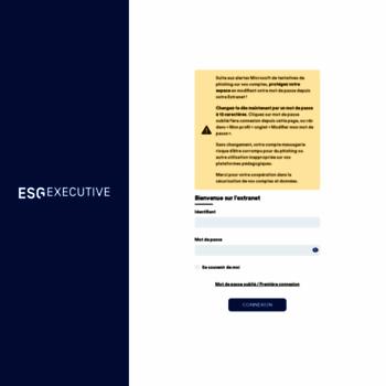Esg-executive.net thumbnail