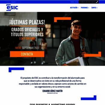 Esic.edu thumbnail
