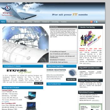 Esignal.co.za thumbnail