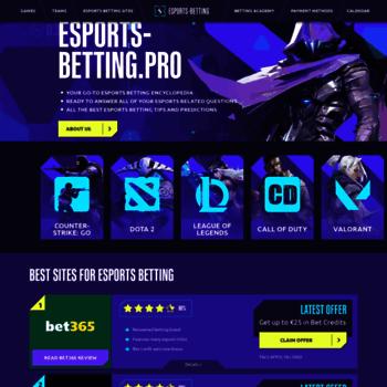 Esports-betting.pro thumbnail