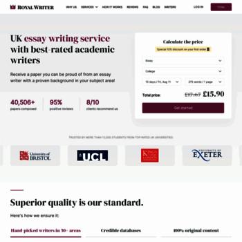 Essaycastle.co.uk thumbnail