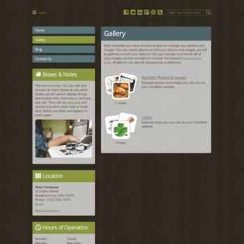 Веб сайт esthercarambot.doodlekit.com