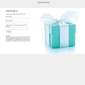 471695d958749 estore-tco.com at WI. E-Store Sign In   Tiffany & Co. Employee Store