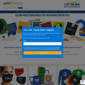 3e3caedc ethixmerch.com at WI. Ethically Made Promotional Merchandise For ...