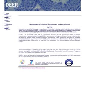 Eu-deer.net thumbnail