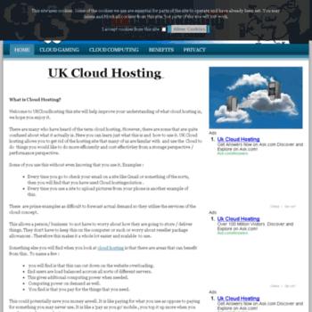 Eukcloudhosting.co.uk thumbnail